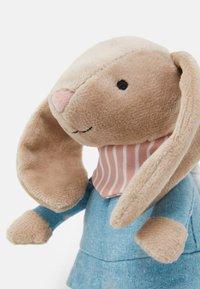 Jellycat - LITTLE RAMBLER BUNNY RATTLE UNISEX - Cuddly toy - beige - 3