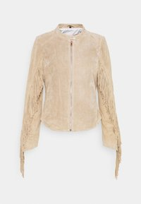Freaky Nation - COACHELLA GIRL - Leather jacket - driftwood - 5