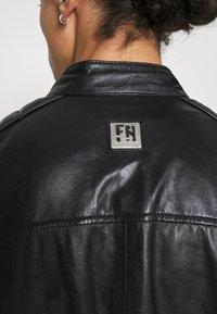 Freaky Nation - SHEEP CHARLY ACTION - Leather jacket - black - 4