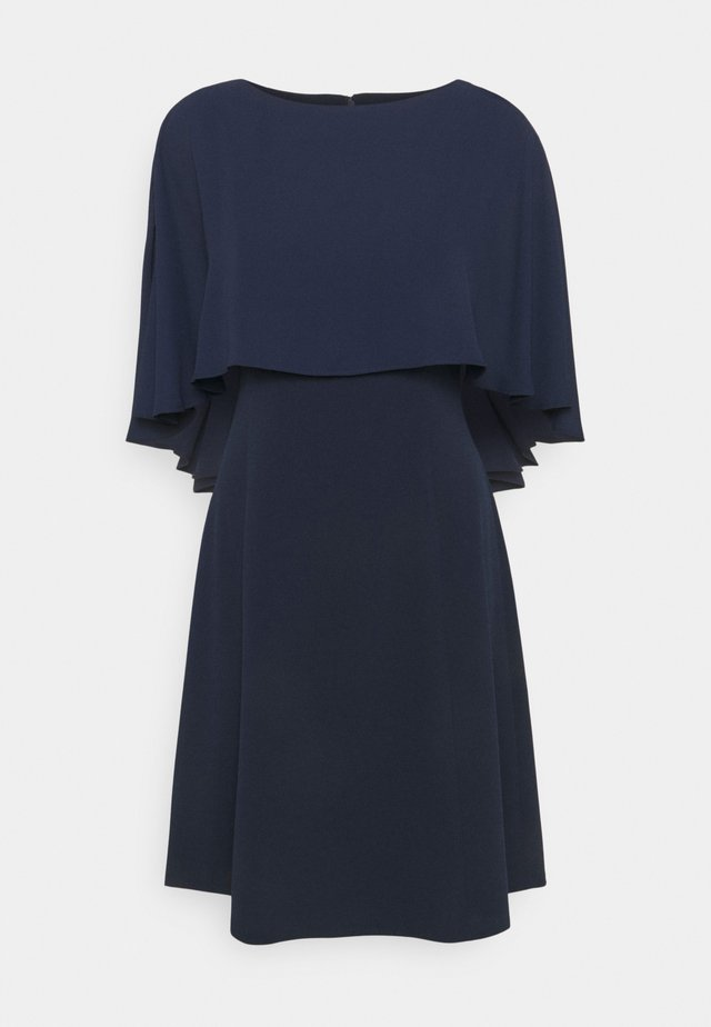 CAPE OVERLAY - Cocktailkleid/festliches Kleid - spring navy