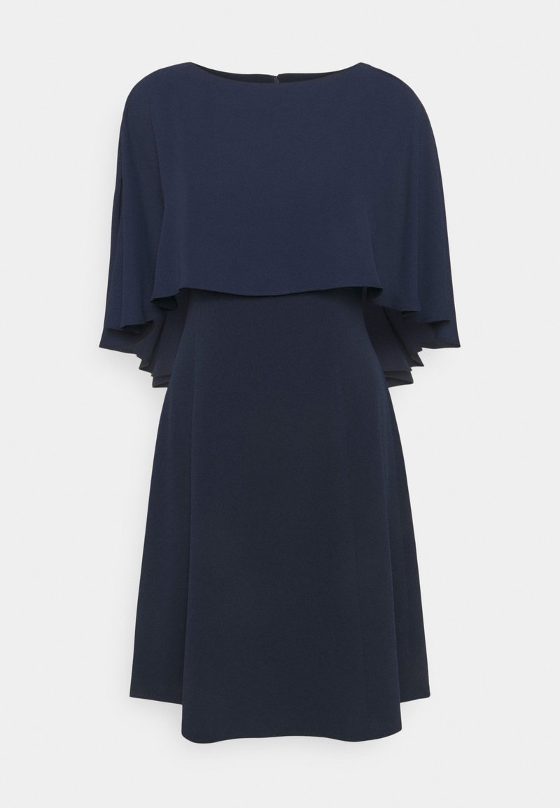 DKNY - CAPE OVERLAY - Cocktail dress / Party dress - spring navy