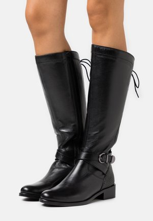 SABRAVI - Vysoká obuv - noir