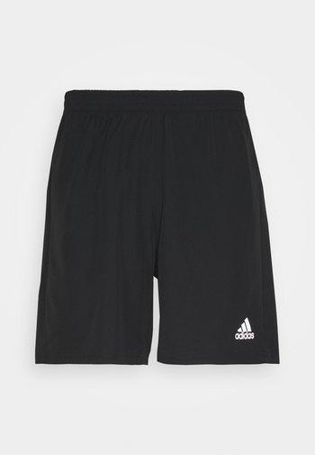RUN IT SHORT - Krótkie spodenki sportowe - black
