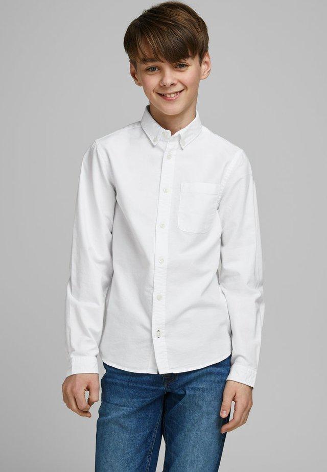 HEMD JUNGS BUTTON-DOWN - Koszula - white
