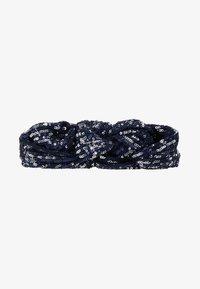Becksöndergaard - SEQUINS HAIRBAND - Hair Styling Accessory - blue - 3