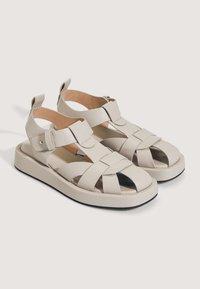 OYSHO - Sandals - beige - 1