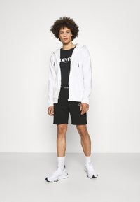 Only & Sons - ONSCERES LIFE ZIP HOODIE - Zip-up sweatshirt - bright white - 1