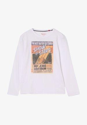 TANSEL - Camiseta de manga larga - optic white