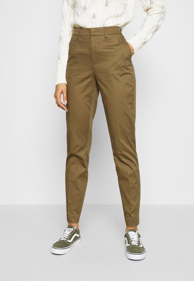 Chino kalhoty - military
