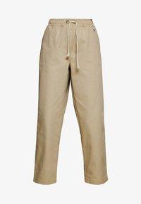 LONG PANTS - Trousers - beige