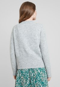 Selected Femme - SLFSIA - Cardigan - light grey melange - 3