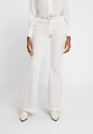 MARBELLA PANTS - Spodnie materiałowe - frost