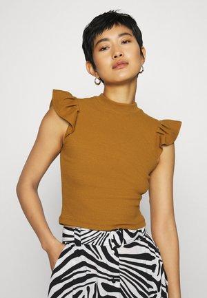 T-shirt basique - camel