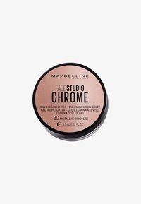 Maybelline New York - FACE STUDIO CHROME JELLY  - Highlighter - 30 bronze - 0
