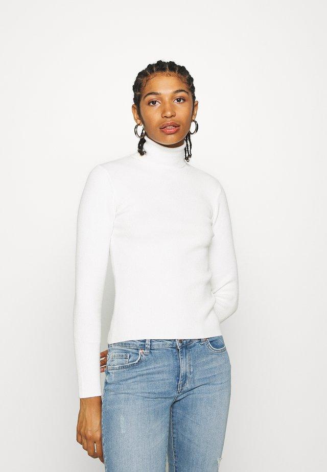 PRIME ROLLNECK - Sweter - white