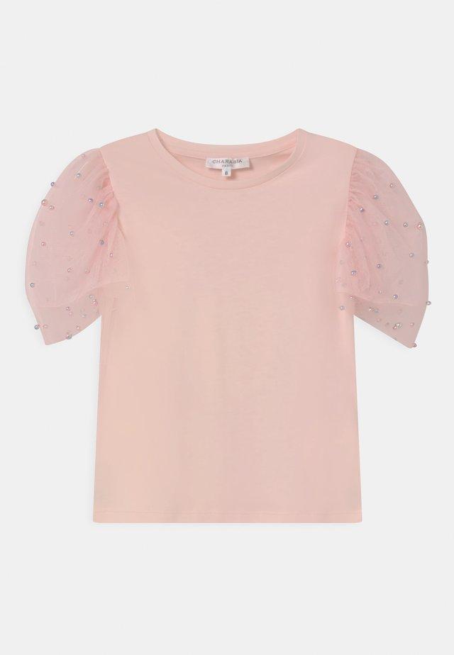 T-shirt print - pinkpale