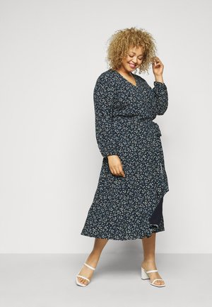 RAYA WRAP DRESS - Day dress - prairie floral desert sky