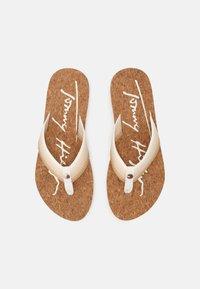 Tommy Hilfiger - GRADIENT BEACH  - Pool shoes - ecru - 4