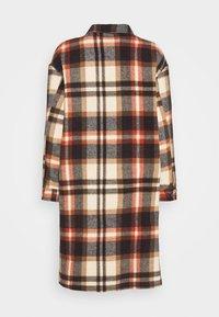 ONLY - ONLELLENE VALDA LONG CHACKET - Classic coat - blue/red - 7