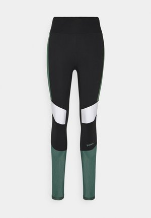 HIGH WAIST BLOCK - Leggings - duck green