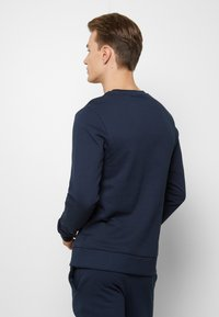 Jack & Jones - JACLOUNGE SET - Pyjamas - navy blazer