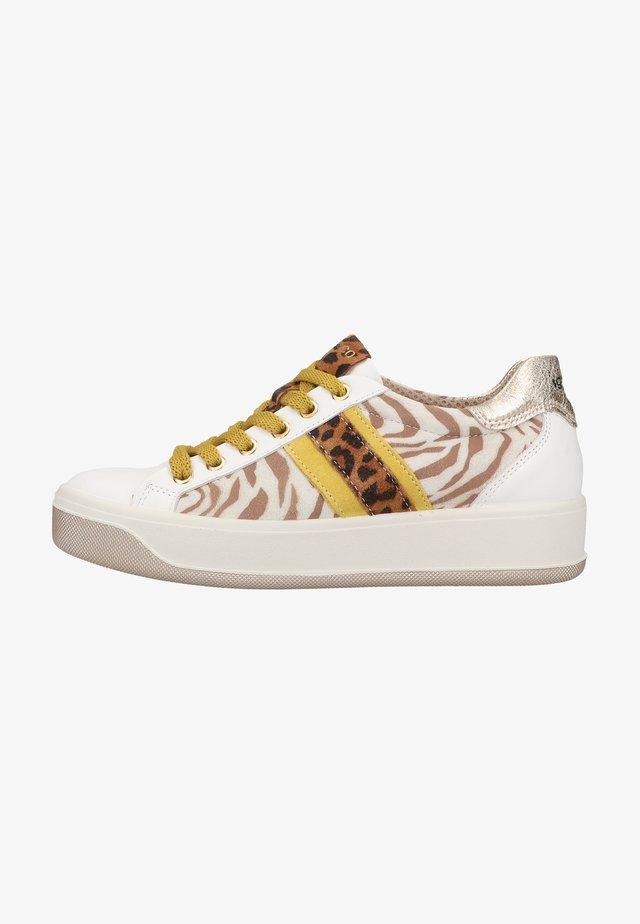 Sneakers laag - bianco/beige