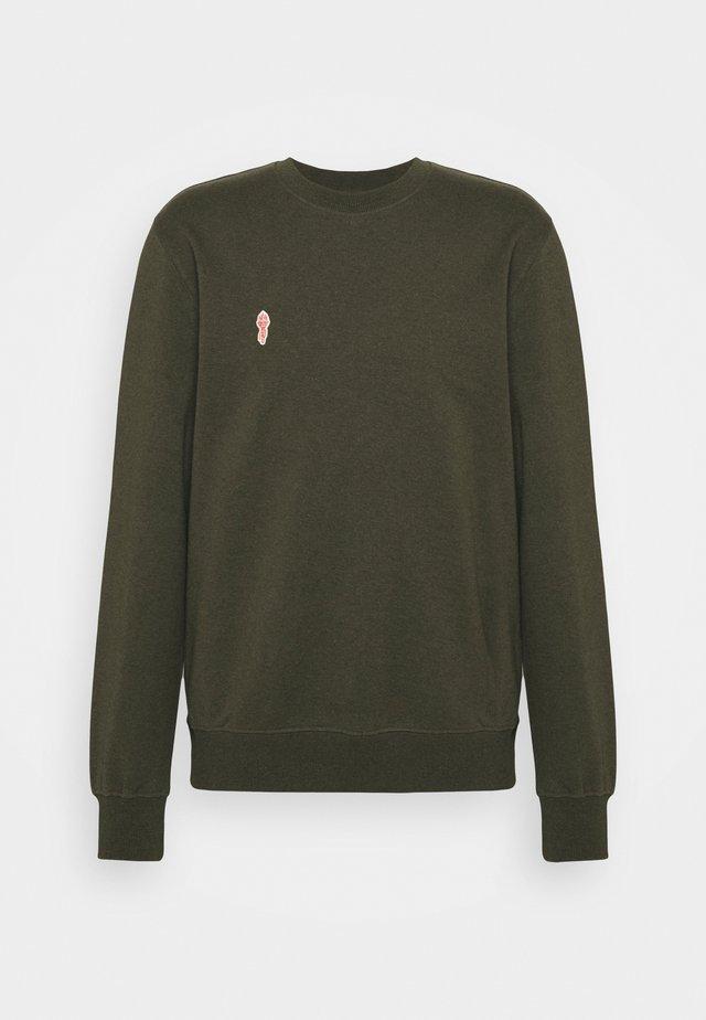 CREWNECK - Sweater - army melange