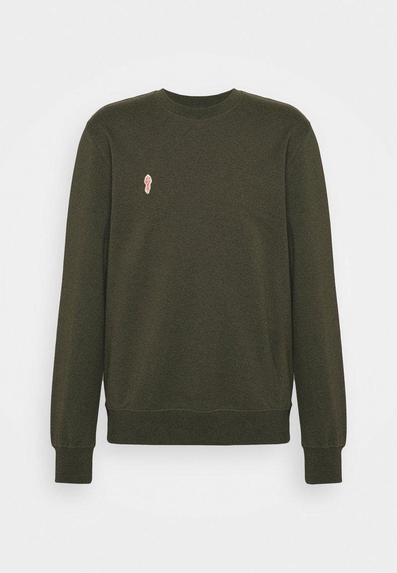 REVOLUTION - CREWNECK - Sweatshirt - army melange