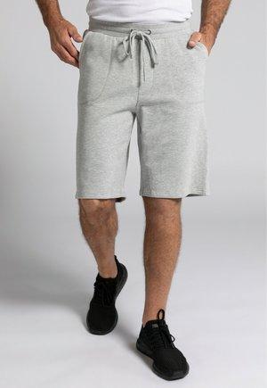 Tracksuit bottoms - gris clair chiné