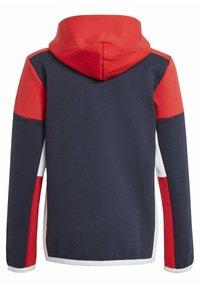 adidas Performance - Z.N.E. FULL-ZIP HOODIE - Zip-up sweatshirt - blue - 1