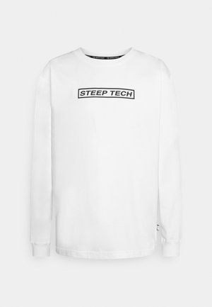STEEP TECH LIGHT - Long sleeved top - white