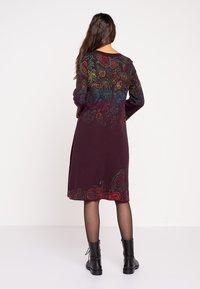 Ivko - Jumper dress - brown red - 2