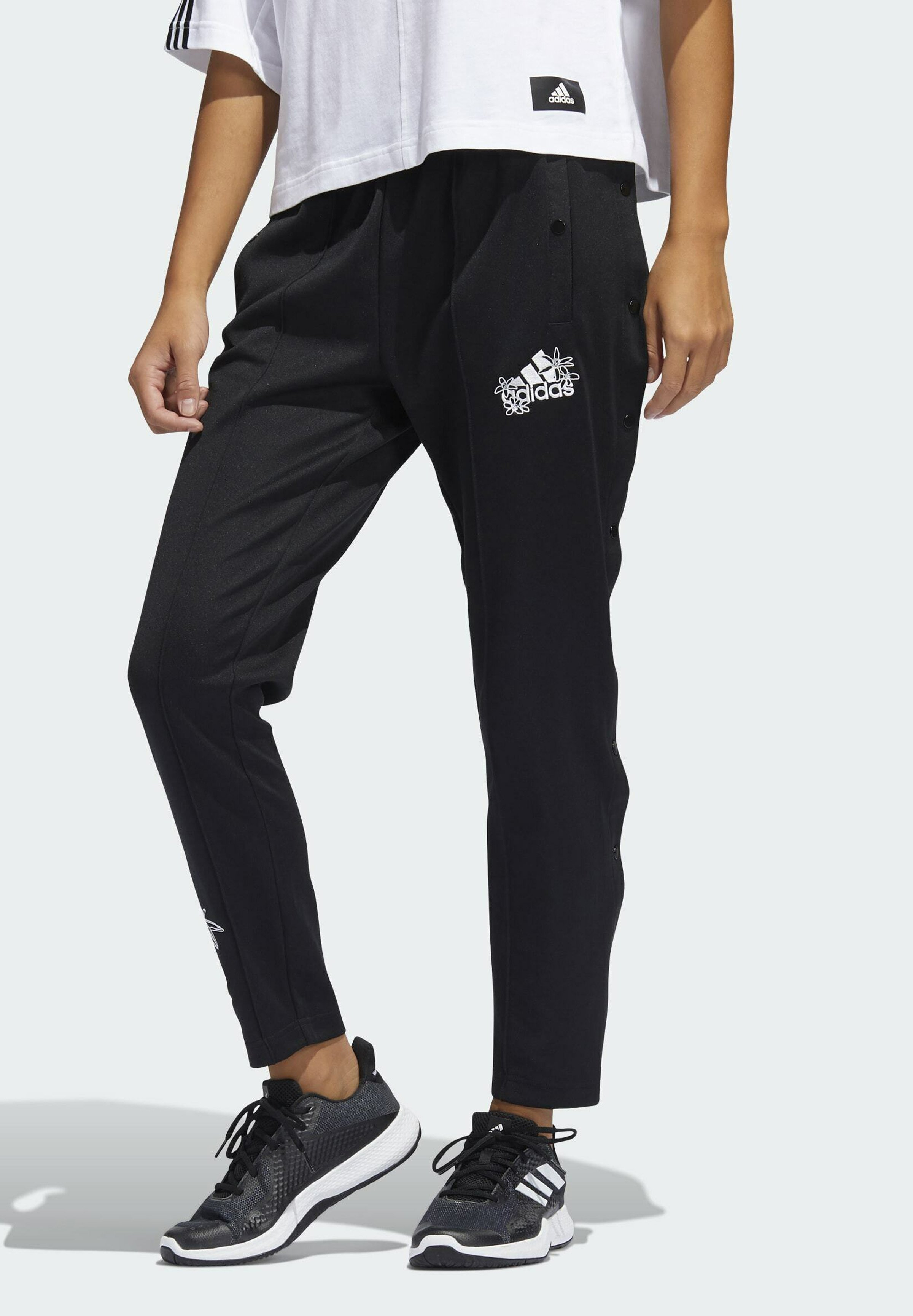 Women GRAPHIC SNAP JOGGERS - Tracksuit bottoms