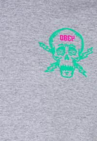Obey Clothing - RAW POWER NEON - Printtipaita - heather grey - 2