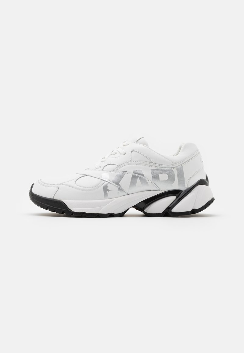 KARL LAGERFELD - VOLT LOGO LO LACE - Trainers - white/silver