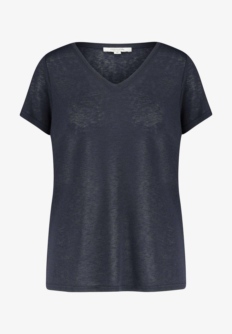 comma casual identity - Basic T-shirt - marine (52)