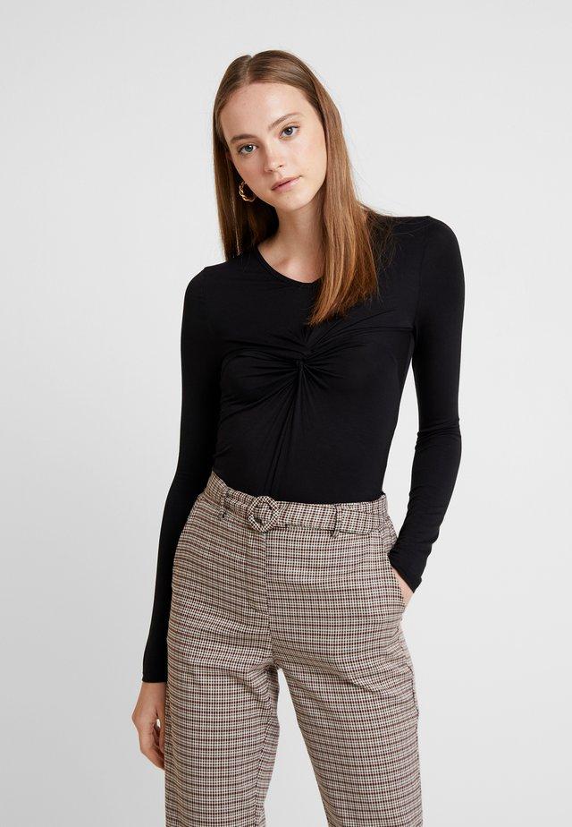 VMPRIL KNOT BODY  - Bluzka z długim rękawem - black