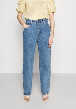 BAGGY - Straight leg jeans - lucky blue