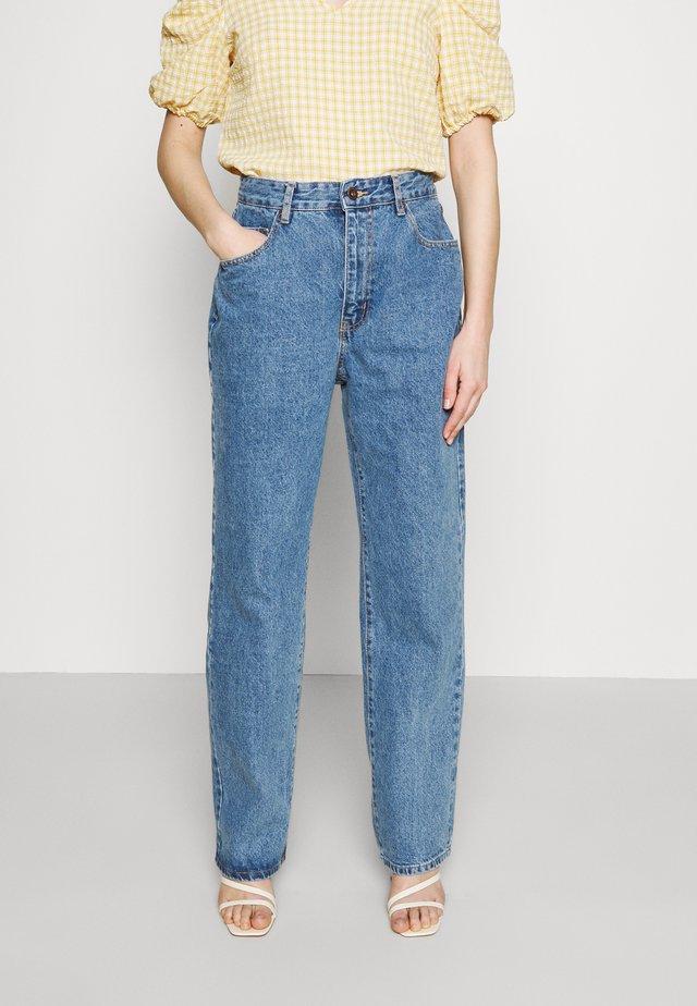 BAGGY - Straight leg jeans - lucky blue