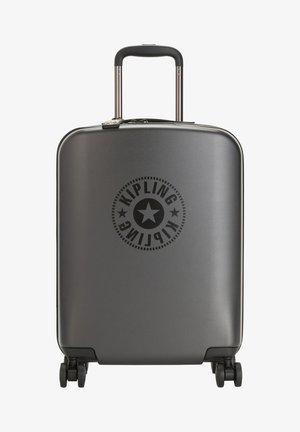 CURIOSITY S - Wheeled suitcase - raw black