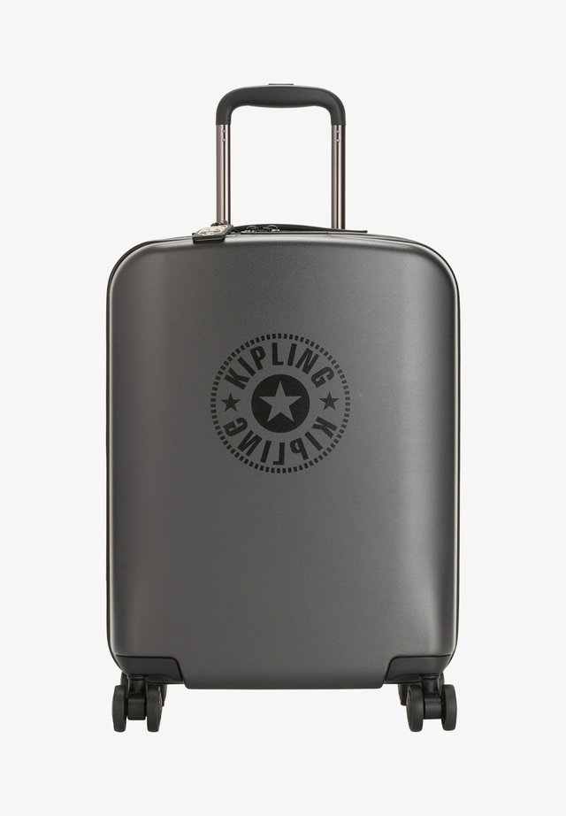 CURIOSITY S - Wheeled suitcase - raw black
