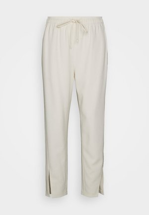SLIT PULL ON ADMIR - Trousers - rice