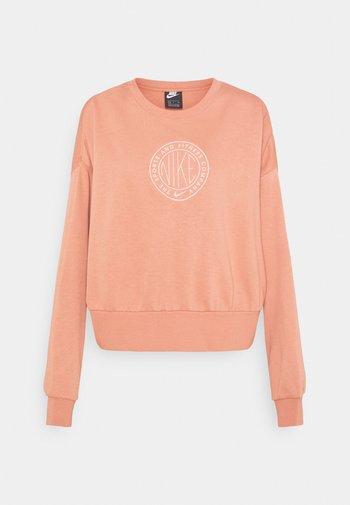 FEMME CREW - Sweatshirt - terra blush/terra blush/orange pearl