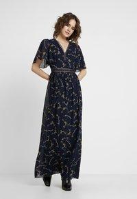 Apart - PRINTED DRESS - Maxi dress - midnightblue/multicolor - 1