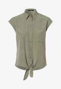zero - Button-down blouse - sage - 4