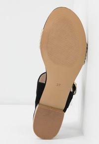 San Marina - BADRA - Sandals - black - 6