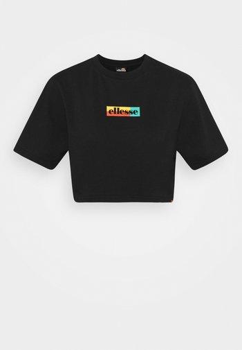 RIONA - T-shirt print - black