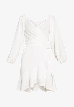 LOVLEY FRILL DRESS - Cocktailklänning - white