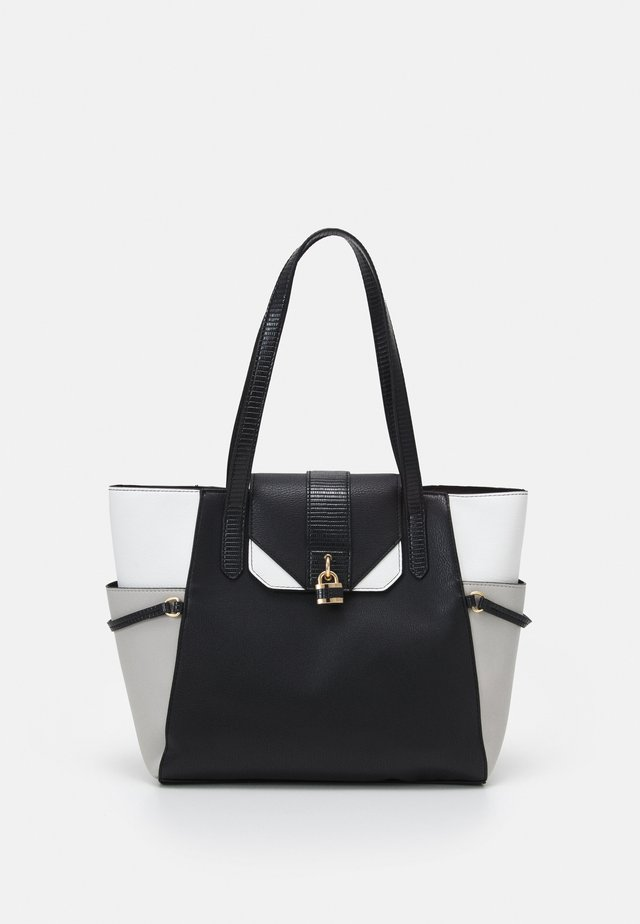 PADLOCK SHOPPER - Shopping bag - black