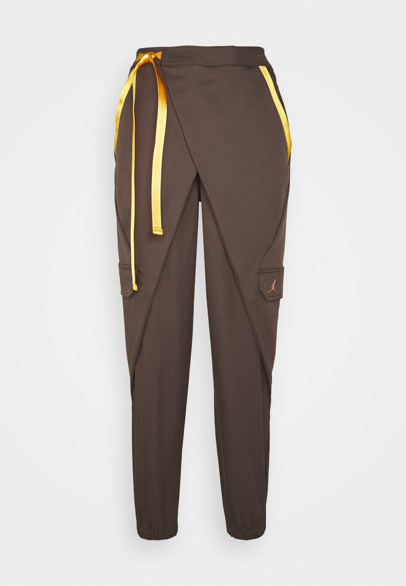 Jordan - UTILITY PANT FUTURE - Cargo trousers - ironstone/red bronze